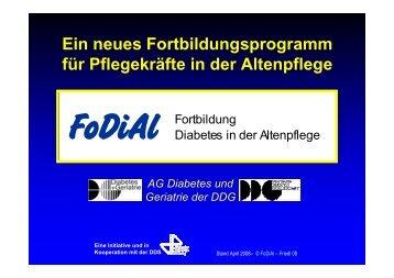 Beispiel - FoDiAl