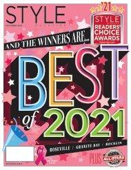 Style Magazine - Readers Choice Awards - Roseville Granite Bay Rocklin 2021