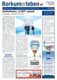 29.09.2021 / Borkumerleben - Die wöchentliche Inselzeitung