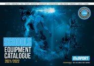 McSport Sports Equipment Catalogue 2021/2022