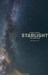 Starlight - Full Score