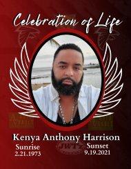 Celebration of Life Program for Kenya