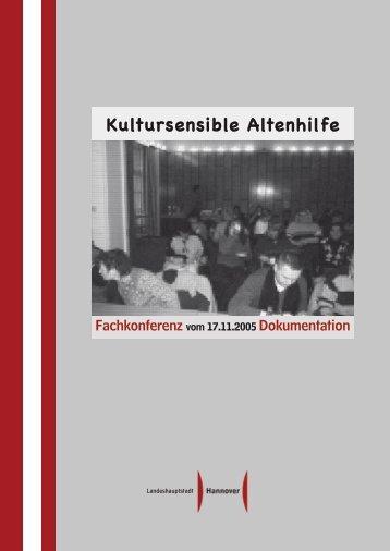 """Dokumentation der Fachkonferenz """"Kultursensible Altenhilfe"""""""