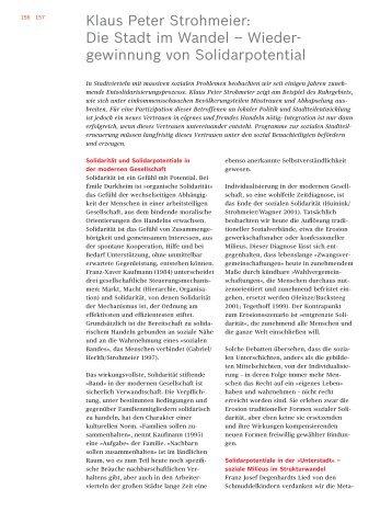 Klaus Peter Strohmeier - Robert Bosch Stiftung