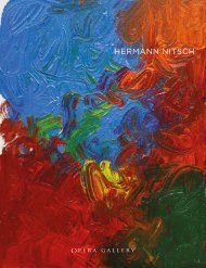 Hermann Nitsch | Opera Gallery London | 14 Oct. - 14 Nov. 2021