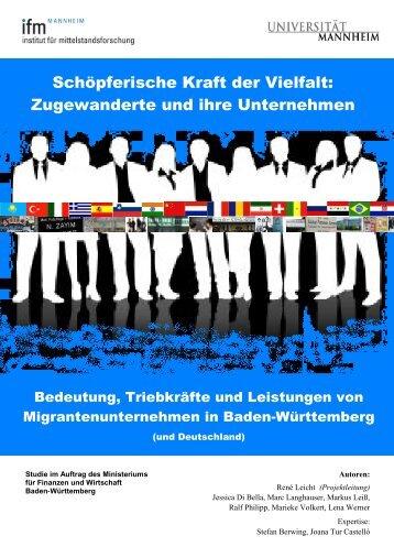 2. Determinanten, Wirkungen und Leistungen ethnischen ...