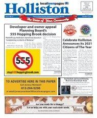 Holliston October 2021