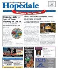 Hopedale October 2021