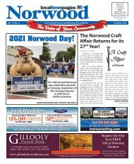 Norwood October 2021