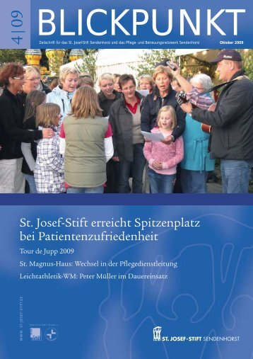 """Das """"Sommerloch"""" ist erneut ausgefallen - St. Josef-Stift Sendenhorst"""