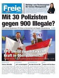 Mit 30 Polizisten gegen 900 Illegale?