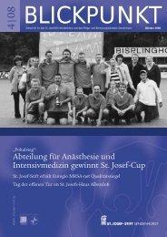 Blickpunkt 4/08 - St. Josef-Stift Sendenhorst