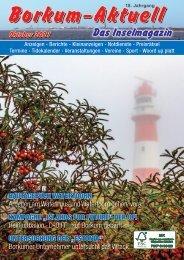 Oktober 2021 Borkum-Aktuell - Das Inselmagazin