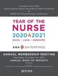 2021 South Carolina Annual Book of Reports