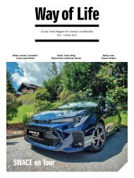 Suzuki Way of Life Magazin Herbst 2021