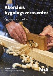 Akershus bygningsvernsenters brosjyre 2021