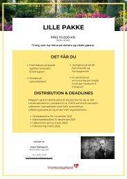 Salg til magasin 2022 - Lille pakke
