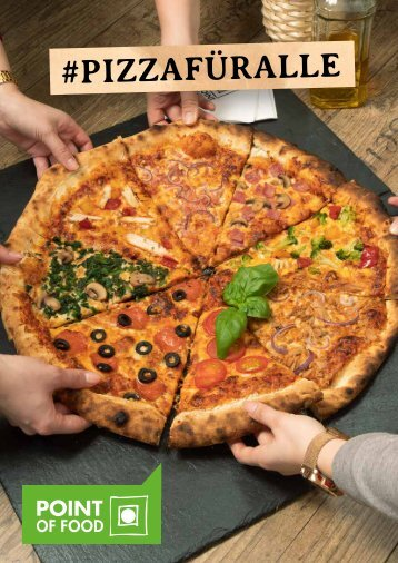 #pizzafüralle - Point of Food Katalog 2021/2022
