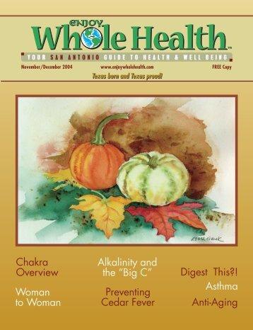 Chakra Overview - Enjoy Whole Health