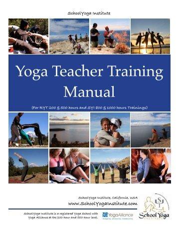 Yoga Teacher Training Manual - Brihaspati.net