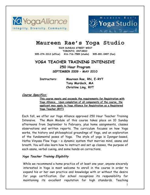 Frameworks Instructor Maureen Rae S Yoga Studio