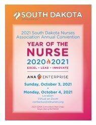 2021 South Dakota Nurses Association Annual Convention