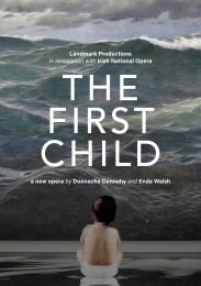 The First Child programme book