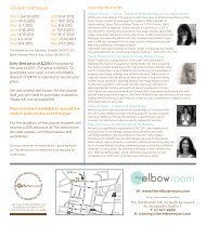 Foundation Yoga Teacher Training - The elbowroom