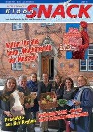 Holsteiner KlöönSNACK - Ausgabe Kiel - Oktober 2021