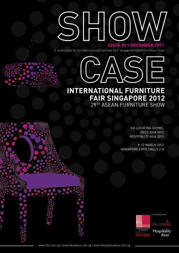 INTERNATIONAL FURNITURE FAIR SINGAPORE 2012 - IFFS