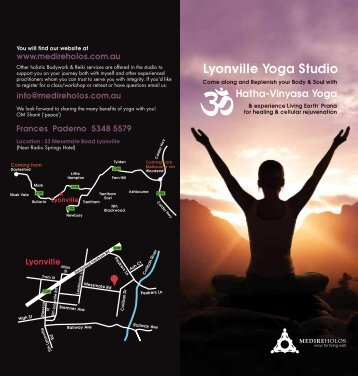 Lyonville Yoga Studio - Medire Holos
