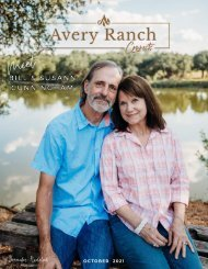 Avery Ranch Connects October 2021 issue