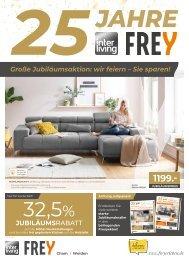 Interliving FREY  Jubi-Prospekt Vollsortiment + Küche + Trends - KW39
