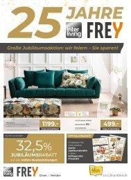 Interliving FREY  Jubi-Prospekt Vollsortiment + FASO - KW40
