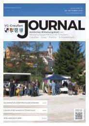 Creußen Journal - Ausgabe 08.Oktober 2021