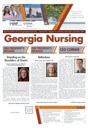 Georgia Nursing - October 2021