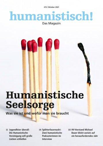 humanistisch! Das Magazin #15 - 4/2021