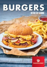 Revue de gamme Burgers