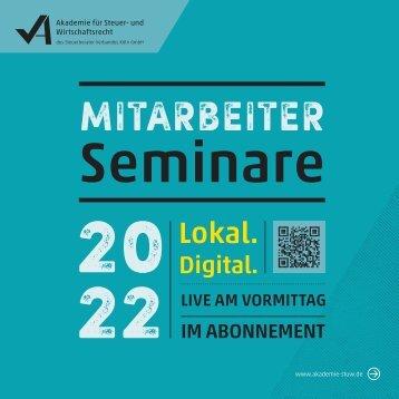 Mitarbeiter-Seminare 2022