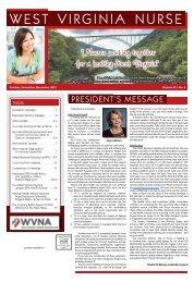 West Virginia Nurse - October 2021