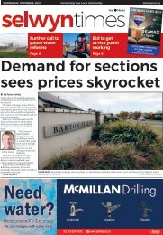 Selwyn Times: October 06, 2021