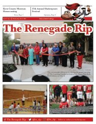 Renegade Rip Issue 3, Oct. 6, 2021