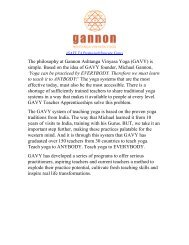 GAVY - Michael Gannon Yoga