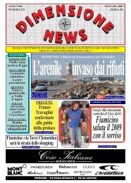 Dimensione News Gennaio 2009 N° 233.pdf - Radio Dimensione ...