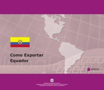 Como Exportar Equador - BrasilGlobalNet