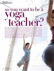 Wellbeing - Yoga Thailand