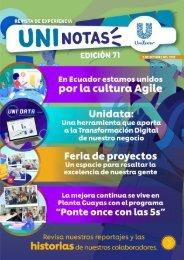 Revista Uninotas Edición 71