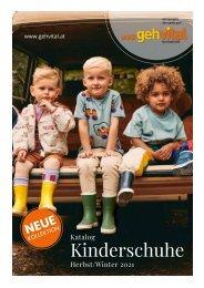 Katalog: gehvital Kinderkatalog Herbst/Winter 2021