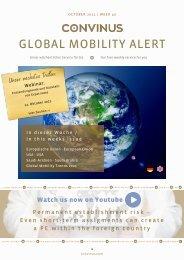 CONVINUS Global Mobility Alert Week 40