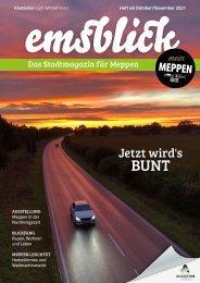 Emsblick Meppen - Heft 46 (Oktober/November 2021)